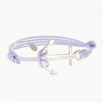 Bracelet personnalisé Ancre