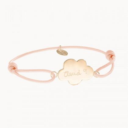 Personalisiertes Wolken Armband