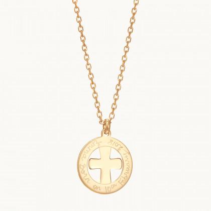 Medalla de bautismo o primera comunión personalizada