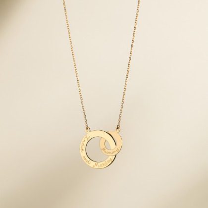 Fine Intertwined Necklace