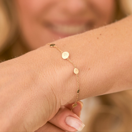 Personalisiertes Pastille Armkettchen