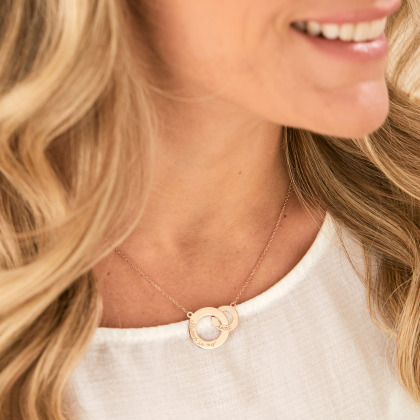 Personalized Intertwined Necklace