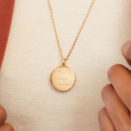 Collana Personalizzata Portapensieri