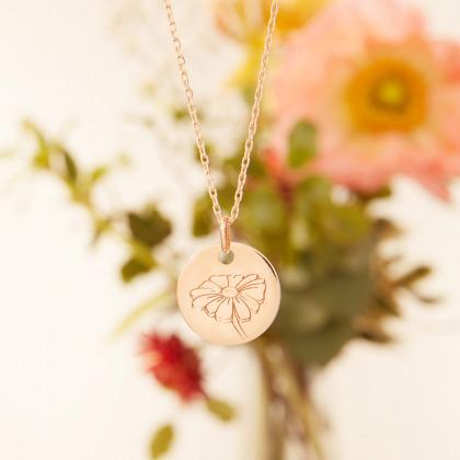 Collier Fleur de Naissance