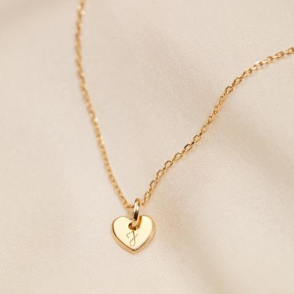 Fine Mini Heart Necklace