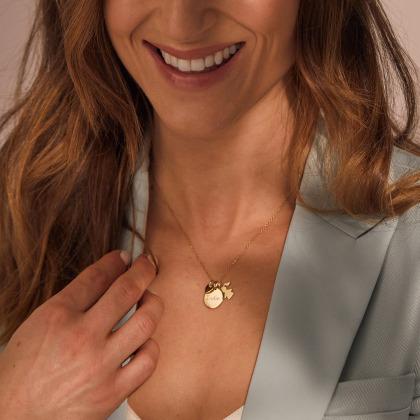 Collier Kate en or 18 carats