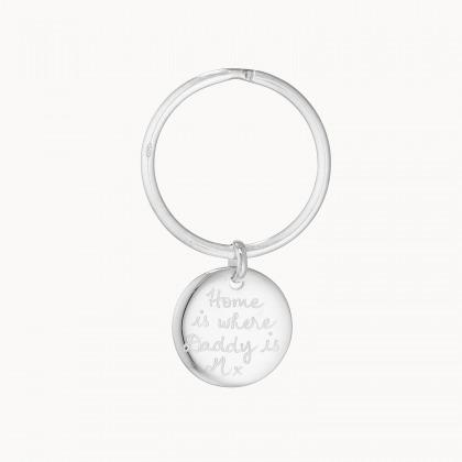 Portachiavi in argento personalizzato