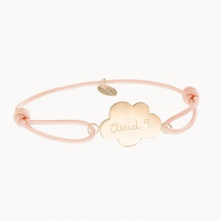 Personalised Cloud Bracelet
