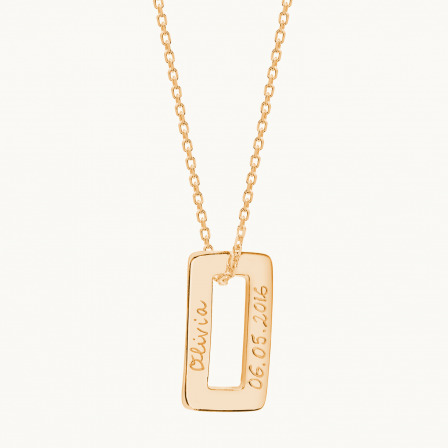 The Connection Necklace-18K Gold Plated