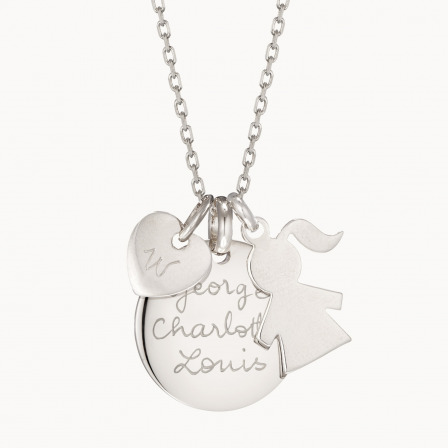 The Duchess Necklace-925 Sterling Silver
