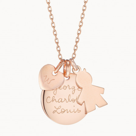 The Duchess Necklace-18K Rose Gold Plated