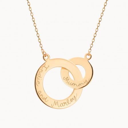 Collana Personalizza Intrecciata in Oro Massiccio