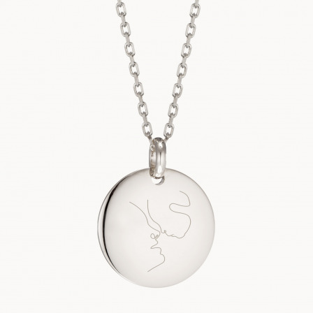 Personalised Illustration Necklace-925 Sterling Silver