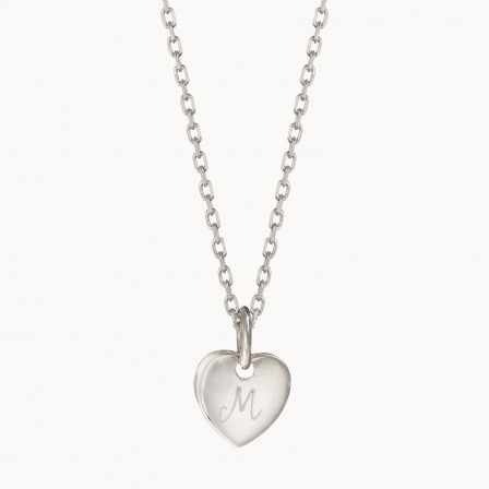 Personalised Initial Necklace-925 Sterling Silver