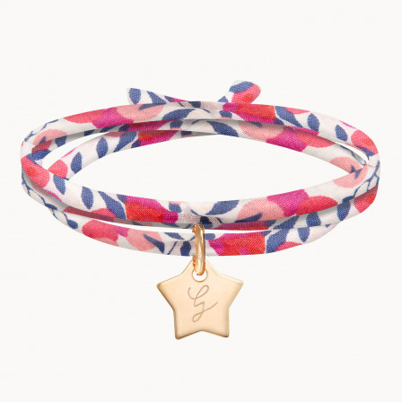 personalised mother child bracelet liberty wrap bracelet merci maman