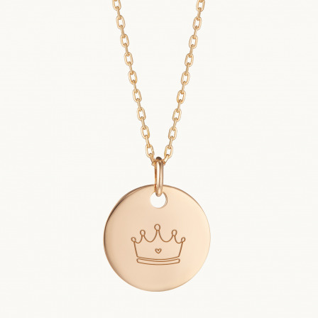 My Little Illustration Necklace-18K Gold Plated