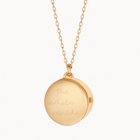 personalised mother necklace gold plated locket necklace merci maman
