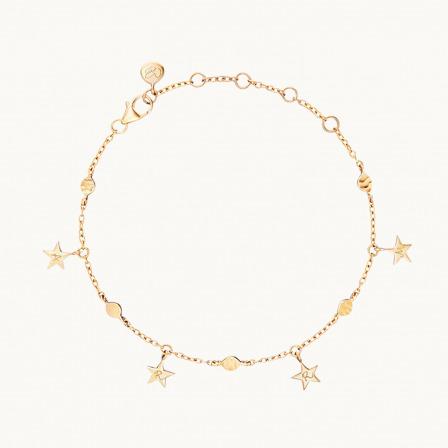 Marica x Merci Maman Star Bracelet -18K Gold Plated