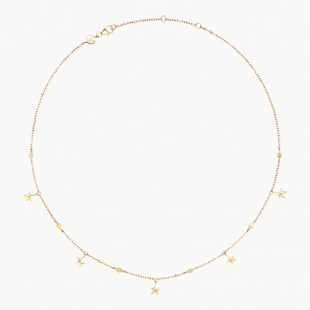 Marica x Merci Maman Star Necklace-18K Gold Plated