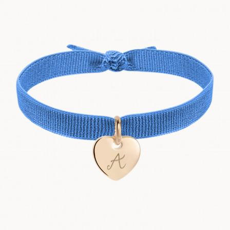 Personalised Stretchy Bracelet-18K Gold Plated